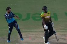 CPL 2020: Andre Russell Hilariously Mimics Rashid Khan's Trademark Celebration