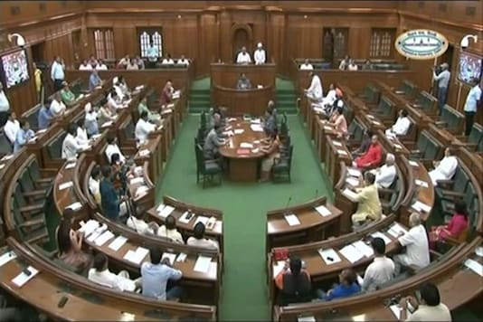 File photo of Delhi Assembly.