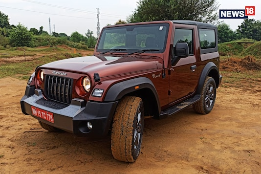 Mahindra Thar. (Photo: Arjit Garg/News18.com)