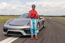16-Year Old Girl Creates Guinness World Record for Fastest Vehicle Slalom in Porsche 718 Spyder