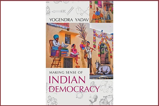 Cover of Yogendra Yadav's book.