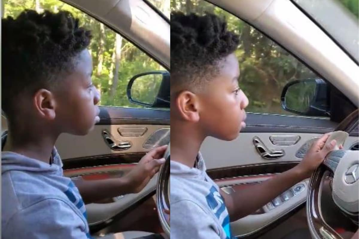 11-Year-Old Boy Who Drove His Sick Grandma Home in Mercedes Benz is Winning the Internet