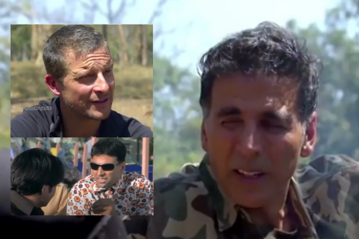 Phir Hera Pheri: Akshay Kumar Discussing His 'Scheme' With Bear Grylls 'Into the Wild' is Mashup Gem