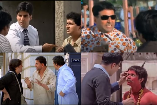 Akshay Kumar's best comical roles. Credits: YouTube