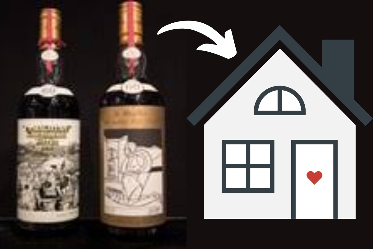 Son Sells 28 Years of Collected Whiskey Bottles Gifted by Father on Every Birthday to Buy House