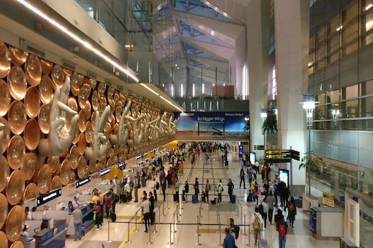 File photo of Delhi's IGI airport.