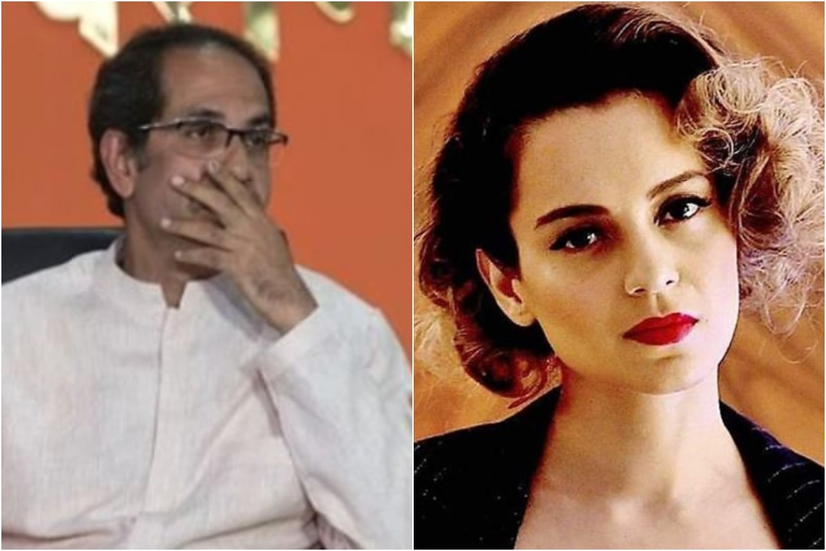 In Veiled Attack on Kangana Ranaut, Uddhav Thackeray Says Some Who Earn in Mumbai Call it PoK