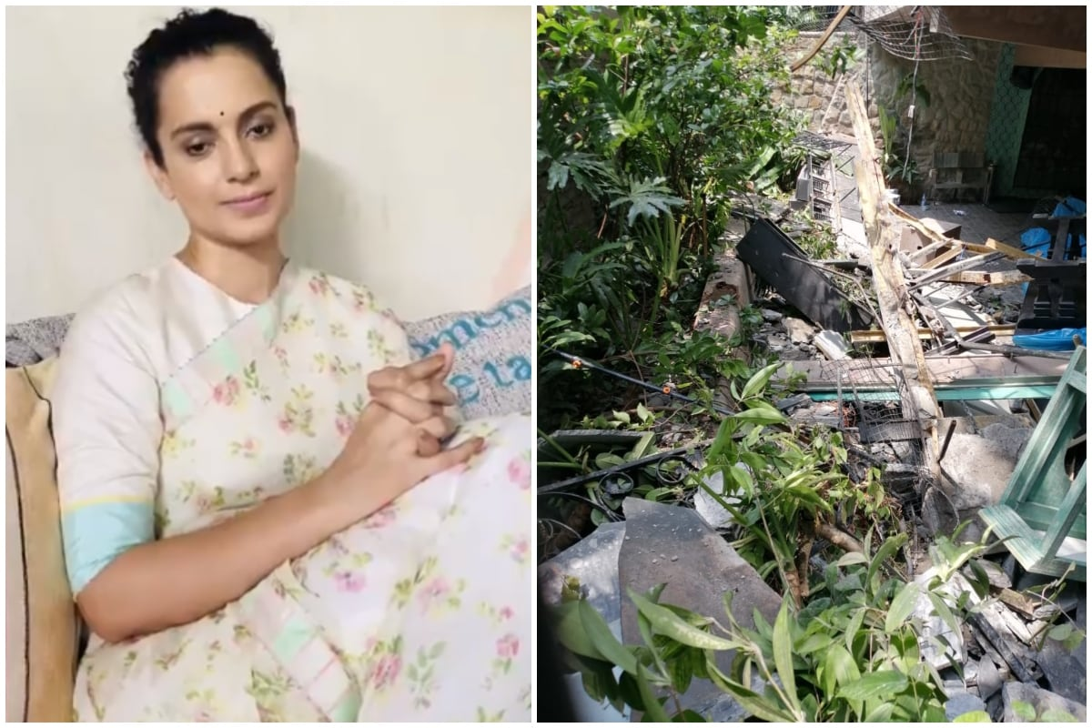 Kangana Ranaut Tears Up as Bombay HC Raps BMC Over Leaving Her House Damaged During Monsoon