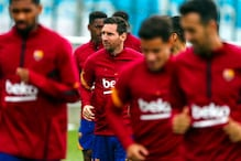 Lionel Messi Passes 2 Covid-19 Tests, Back to Training with Rest of Barcelona Squad