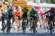 Tour de France: Australian Caleb Ewan Wins Tight Sprint as Peter Sagan Gets Relegated