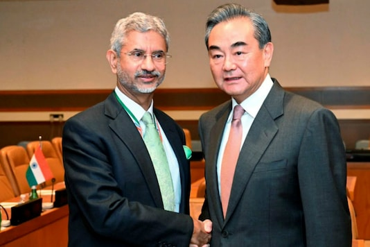 S Jaishankar with this Chinese counterpart Wang Yi. (PTI File)