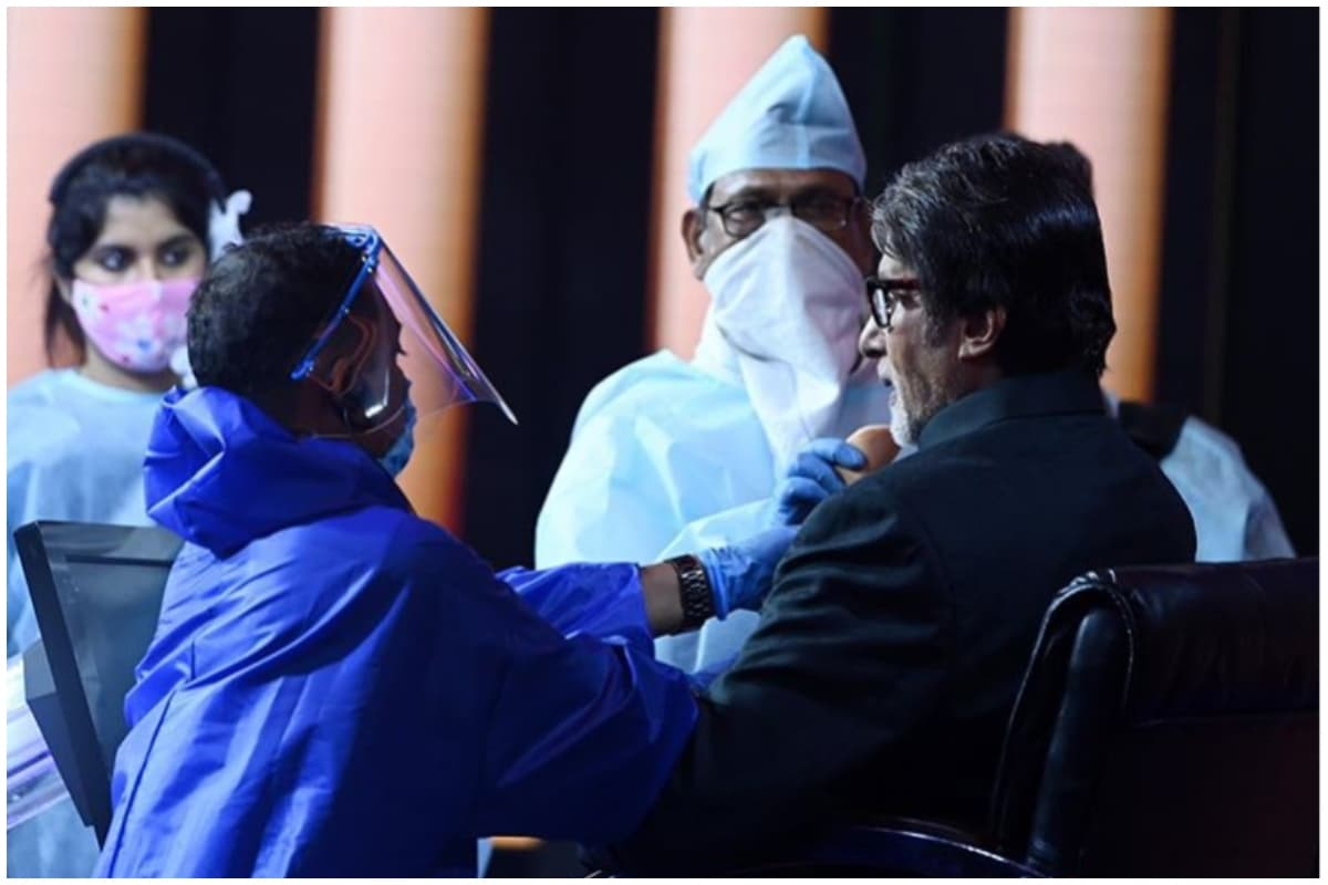 Amitabh Bachchan Assures Fans He is Safe on KBC Set with Pictures as Proof