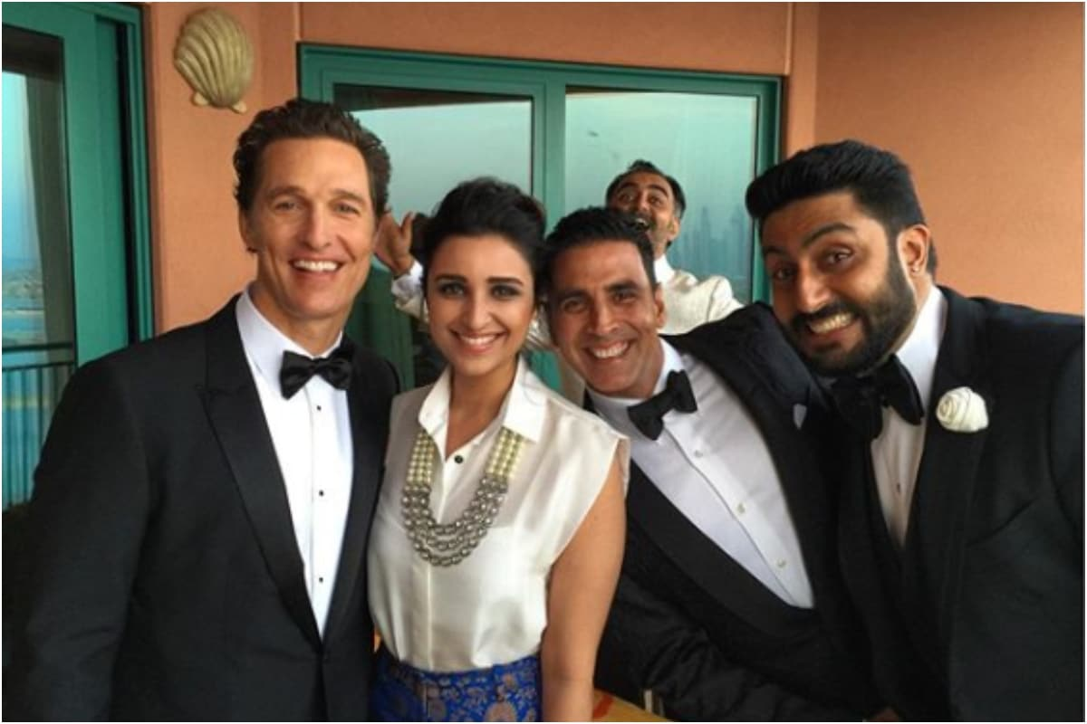 When Akshay Kumar, Abhishek Bachchan, Parineeti Chopra Shared Pic with Matthew McConaughey