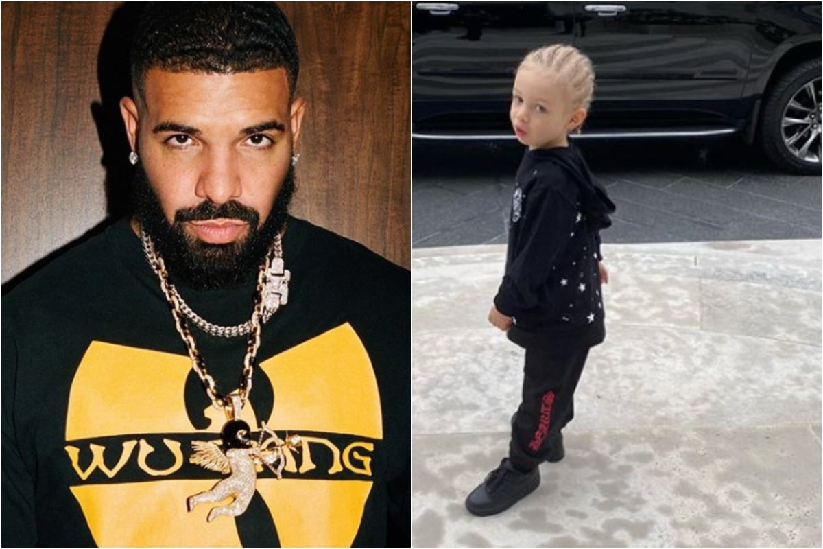 Drake's Son Adonis Starts School, Proud Father Shares Pic from His First Day