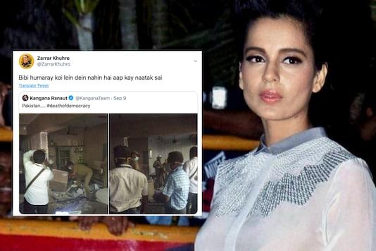 Pakistani social media users reacted to Kangana Ranaut calling Mumbai as Pakistan | Image credit: PTI/Twitter