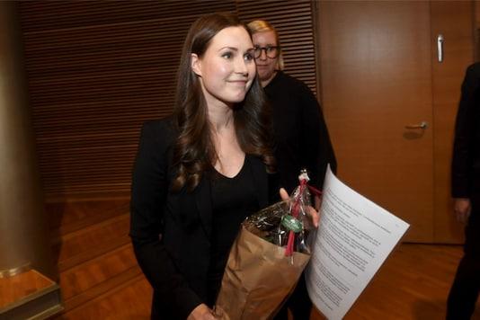 Finland Prime Minister Sanna Marin. (Image: Reuters)