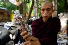Myanmar's Recycling Monk is Re-purposing Plastic Waste from Pandemic to Feed Thousands