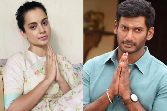 Kangana Ranaut and Vishal