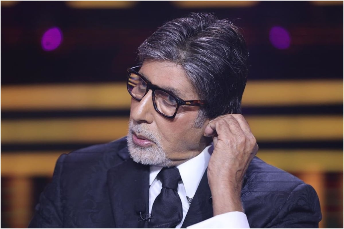 Amitabh Bachchan Shares New Pic from KBC Sets, Pens Hilarious Poem Along