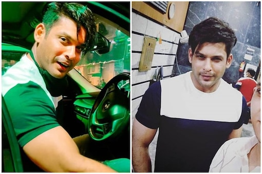 Siddharth Shukla was spotted in a new hairstyle recently.
