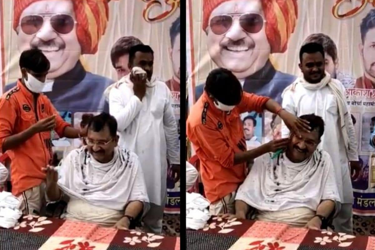 MP Hairdresser Gives Minister On-stage Haircut, Rewarded Rs 60,000 to Set up Salon