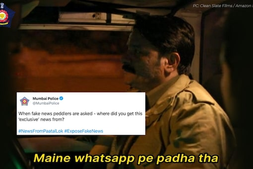 Hyderabad Police has a new meme to fight fake WhatsApp forwards | Image credit: Twitter