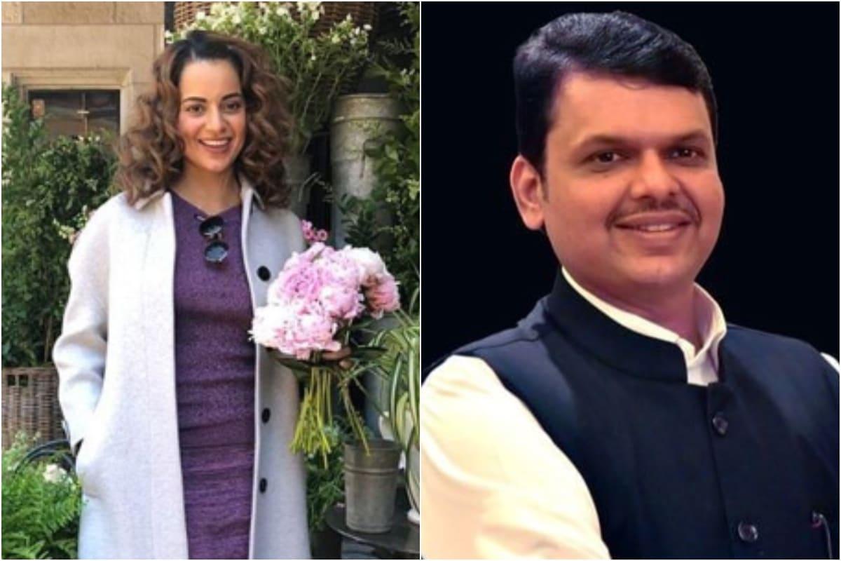 No Plans to Bring Kangana Rananut to Bihar as Star Campaigner, Says Devendra Fadnavis