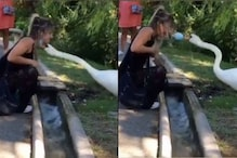 WATCH: Swan 'Fixing' Woman's Face Mask to Cover Her Mouth Properly is the Policing We Need