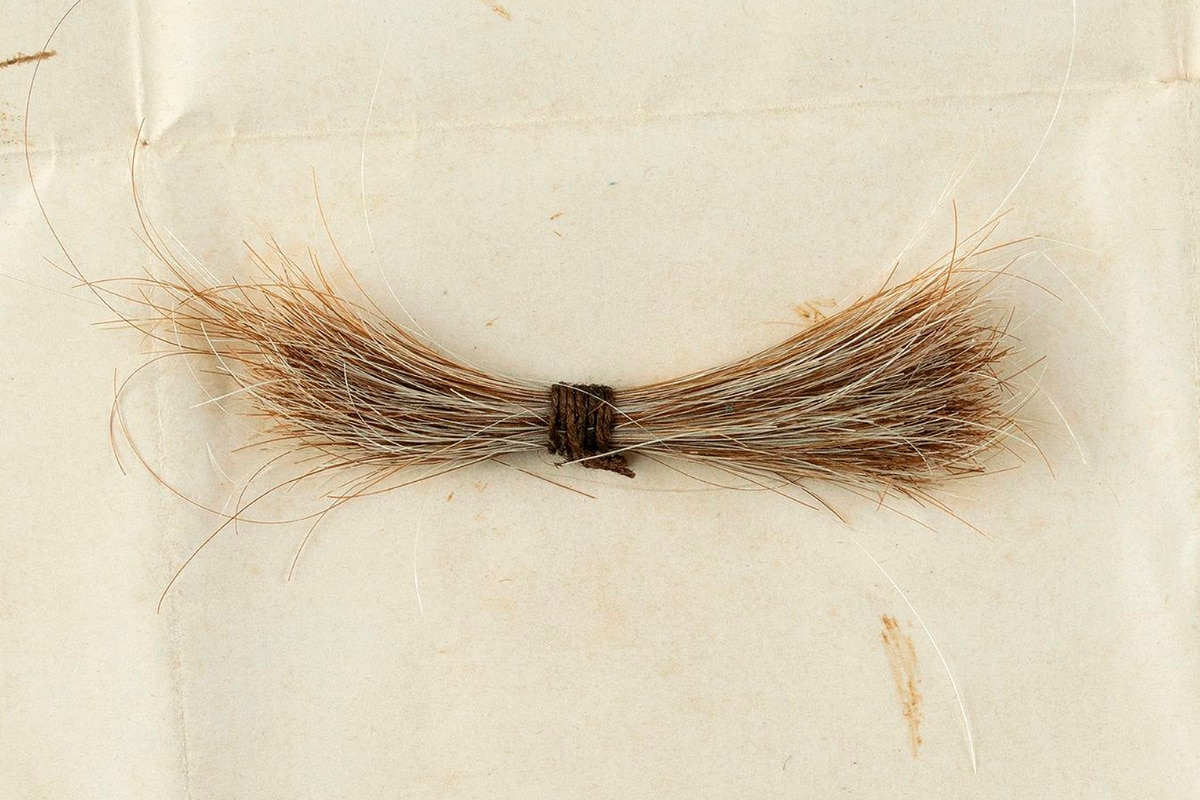 Lock of Abraham Lincoln's Hair Along With Blood-stained Telegram Sold for $81,000 at Auction