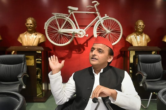 File photo of Samajwadi Party chief Akhilesh Yadav (Reuters)