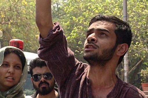 File image of former JNU student leader Umar Khalid.