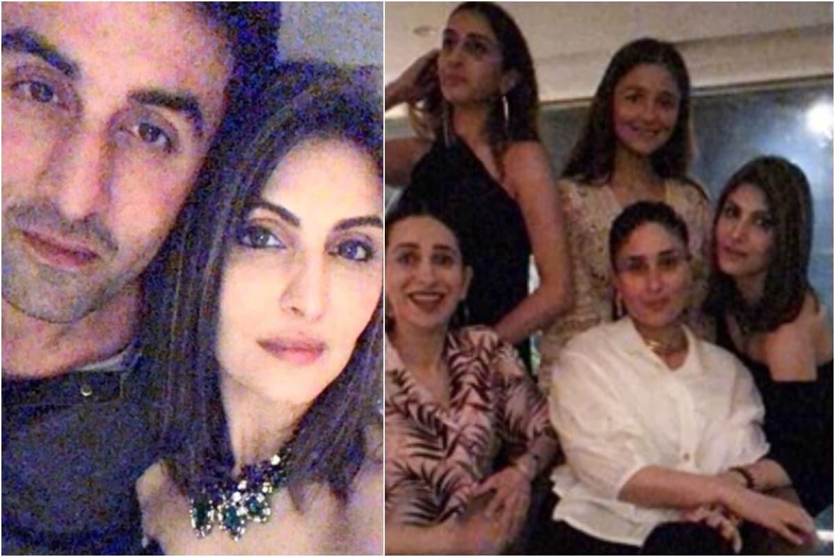 Alia Bhatt Joins Ranbir, Kareena and Karisma Kapoor at Riddhima Sahni's Birthday Party, See Pics