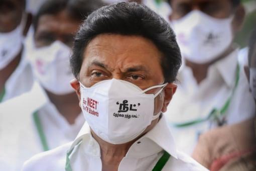 DMK President MK Stalin in Chennai. (PTI Photo)