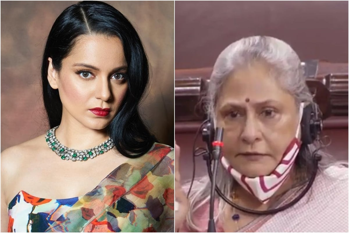 Kangana Ranaut Slams Jaya Bachchan's Speech on Attacks Against Bollywood