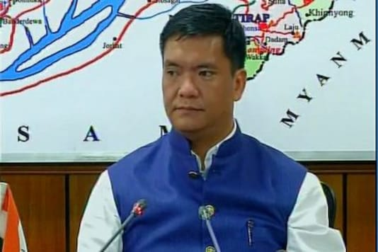 File photo of Arunachal CM Pema Khandu.