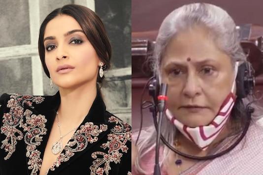 Sonam Kapoor and Jaya Bachchan