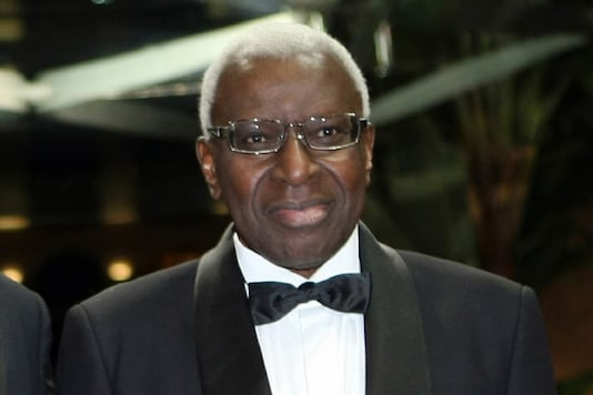 Lamine Diack (Photo Credit: AP)