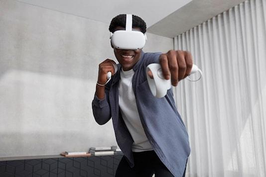 The Oculus Quest 2. (Image Credit: Facebook)