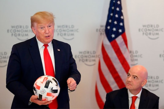 Donald Trump and Gianni Infantino (Photo Credit: Twitter)