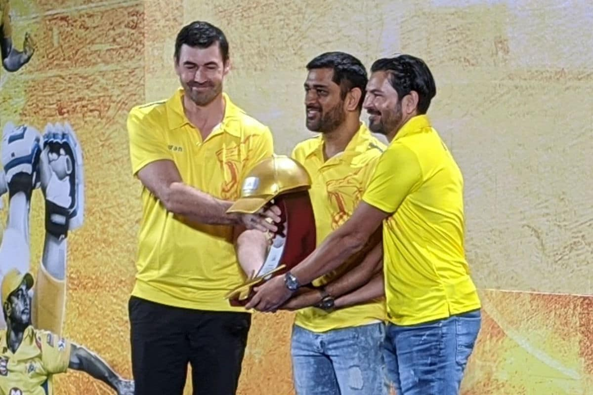 IPL 2020: MS Dhoni Gets Special Award from Chennai Super Kings Ahead of Opening Game