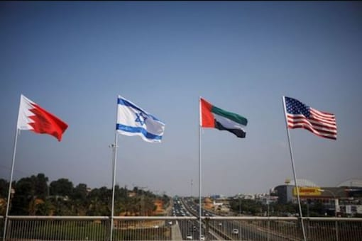 At historic event, UAE and Bahrain to move toward normal ties with Israel.