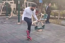 Delhi Man Sets New Guinness World Record With 147 Skips on Roller Skates in 30 Seconds