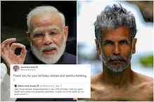 Twitter is Trying to Decipher PM Modi's 'Wishful Thinking' Comment to Milind Soman's Birthday Wish