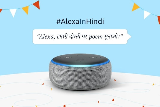 Amazon brings Alexa Hindi support to Alexa smartphone app. (Image Credit: Amazon)