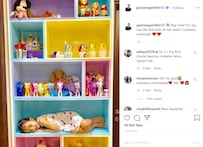 'My Real-Life Doll With Her Dolls': Gautam Gambhir Shares Daughter's Picture On Insta