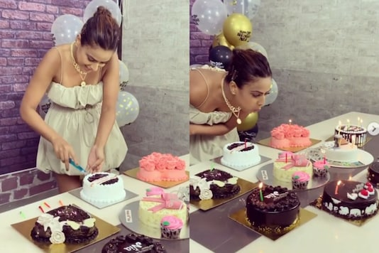 Nia Sharma Replies to Trolls Who Slammed Her for 'Vulgar' Birthday Cake