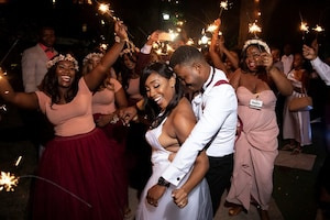 Brides Beat Hurricanes, Power Cuts and Protests to Wed in Style in Haiti