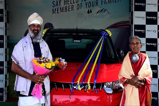 The chairman of the Mahindra group had offered the car to the man after he was impressed by the dedication of the doting son.