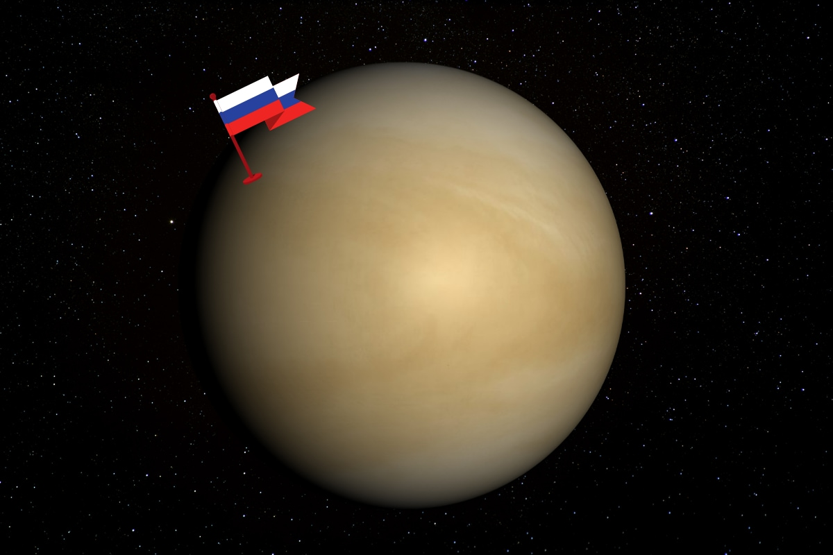 Russians Claim Venus As Their Planet After Signs of Alien Life Discovered