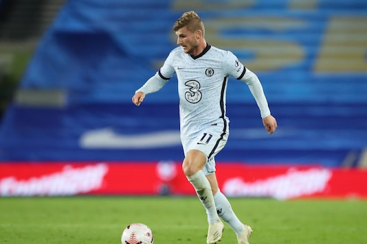 Timo Werner will be in focus as Chelsea take on Liverpool. (Photo Credit: Reuters)